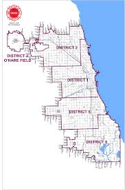 Chicago Police District Map by District Map Chicago Chicago Map