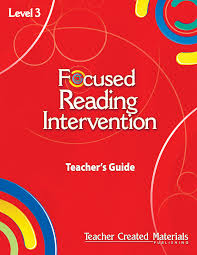 focused reading intervention level 3 kit teacher created materials