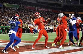 Pro Bowl Orlando by Afc Holds On To Defeat Nfc 20 13 In Pro Bowl Chicago Tribune