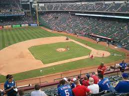 lexus dugout club seats texas rangers globe life park seating chart u0026 interactive map