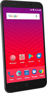 virgin mobile zte tempo x 4g lte with 8gb memory prepaid cell