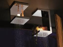 modern bathroom ceiling design modern bathroom ceiling design double stainless steel shevels rain shower decoration