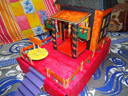 Mandir Decoration At Home Decorative Temple Model Project 3 Steps