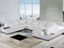 Modular Leather Sectional Sofa White Leather Modular Sectional Foter