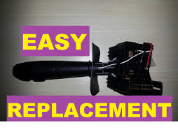 how to easily replace a turn signal switch clio 2 and other