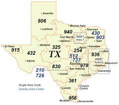 map tx nanpa number resources npa area codes