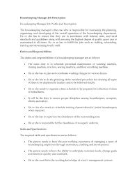 Pharmacy Manager Job Description Job Description Of Housekeeping In Hotel Resume Sample