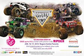 monster jam truck tickets monster jam tickets contest entertain kids on a dime blog