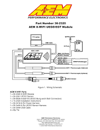 aem xwifi wideband uego egt controller 302067 user manual