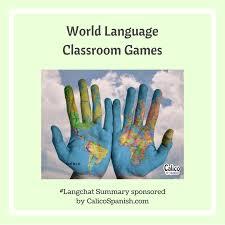 world language classroom games calico spanish