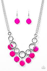 pink necklace images Pink paparazzi accessories jewelry jpg