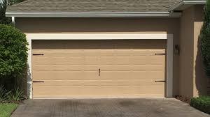 2 Door Garage by Garage Door Installation Flagler County Volusia County