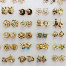 gold earring studs designs excellent gold stud earrings designs online small gold earrings