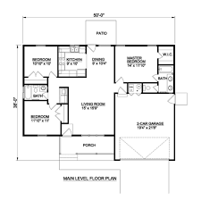 Single Story Ranch Style House Plans Ranch Style House Plan 3 Beds 2 00 Baths 1224 Sq Ft Plan 116 303