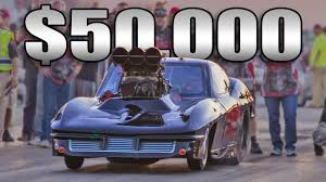 race to win corvette grim reaper corvette 50 000 win no prep