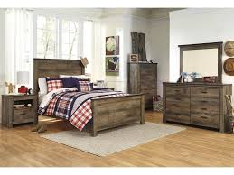 Dresser And Nightstand Sets Trinell 5pc Bedroom Set Headboard Footboard Rails Dresser And