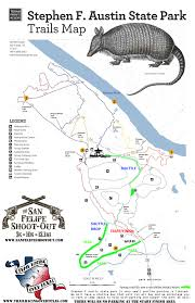 Austin Marathon Map by Texas Trail Racing San Felipe Shootout Stephen F Austin State Park