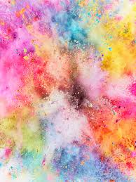 wallpaper of colorful colorful powder explosion wallpaper cover pinterest wallpaper