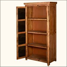 Unfinished Wood Storage Cabinets Furniture Small Storage Cabinet Made Of Reclaimed Wood In