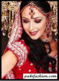 red bridal make up pakifashionpakifashion