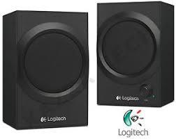 pc bureau multimedia logitech z240 black multimedia 20w 3 5mm speakers pc laptop