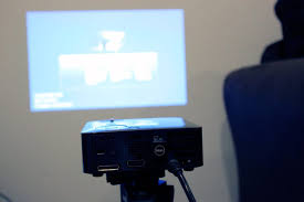 dell home theater projector dell m110 projector unboxing and review youtube