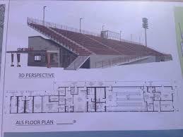 stadium floor plan new stadium floor plan on bottom underneath bleachers yelp