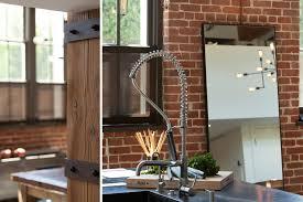 cuisine de loft loft industriel situé à san francisco au design brut et masculin
