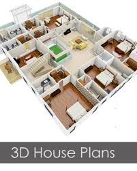 floor plan 3d house building design houzone customized house plans floor plans interior designs to
