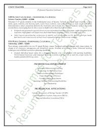 Science Teacher Resume Examples by Art Education Resume Samples