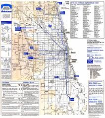 chicago map side chicago l org system maps route maps