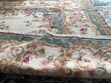 Clean Wool Area Rug Country Floral Area Rugs Ebay