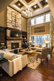 Houzz Ceilings by Living Room Traditional Living Room With Coffered Ceiling