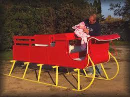 santa sleigh for sale justin carriage works santa gift sleigh