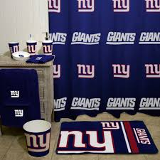 Nfl Shower Curtains Nfl New York Giants Decorative Bath Collection Shower Curtain
