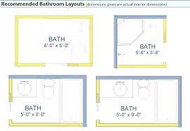 bathroom floor plan ideas 8 x 8 bathroom layout bathroom floor plan 6 x 8 master layout best