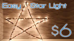 Christmas Rope Light Diy by Christmas Star Light 2nd Diy Of Christmas Youtube
