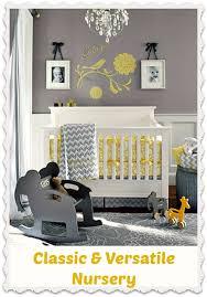 Yellow And Grey Nursery Decor Classic And Modern Nursery Grey And Yellow Baby Room Ideas