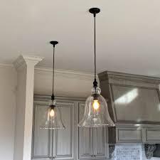 Hammered Metal Table Lamp Mini Pendant Lights For Kitchen Island Art Glass Single Lighting