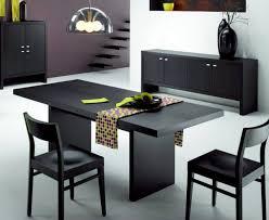 black contemporary dining table modern design modern black dining table innovation inspiration black