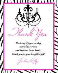 thank you card amazing design quinceanera thank you cards photo