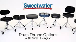 Comfortable Drum Throne Exploring Drum Throne Options By Sweetwater Sound Youtube