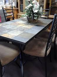 slate dining table set slate top dining table dining room ideas
