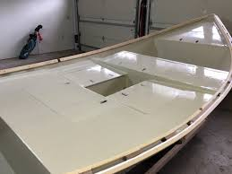whitewater dory more deck painting