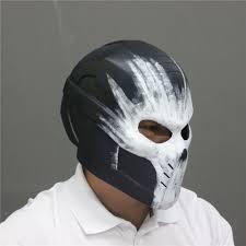 party america halloween 2016 movie captain america 3 cosplay crossbones helmet pvc