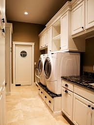 laundry room floor cabinets laundry room flooring ideas with functional with custom design and