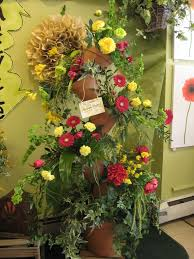 chesters flowers s recycling theme display chester s flower shop