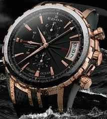 Nautical Themed Watches - edox marks 125th anniversary with two exclusive sea themed watches