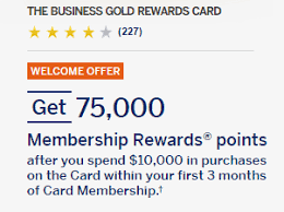 Business Gold Rewards Card From American Express American Express Business Gold Rewards 75 000 Bonus Offer How To