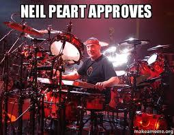 Neil Peart Meme - neil peart approves make a meme